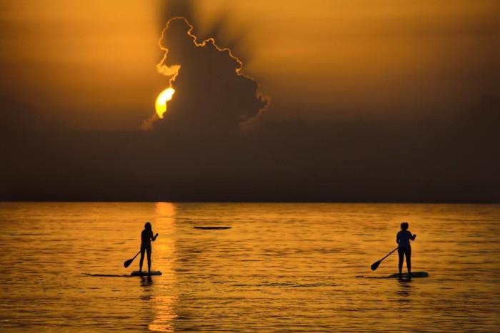 3. Joe Semkow sent us this gorgeous photo of sunrise at Vero Beach.