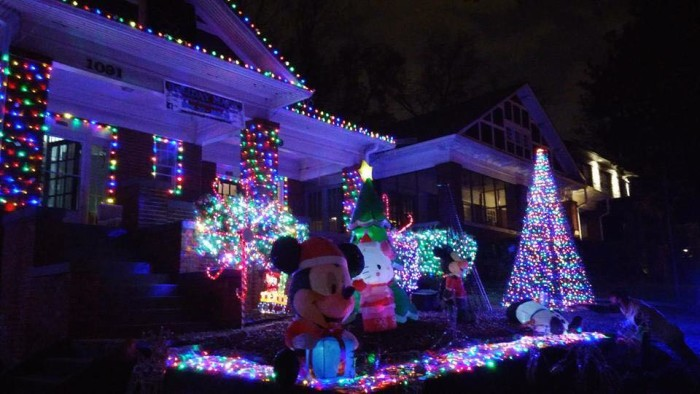 woodruff family christmas lights 2015 1091 monroe dr ne atlanta ga