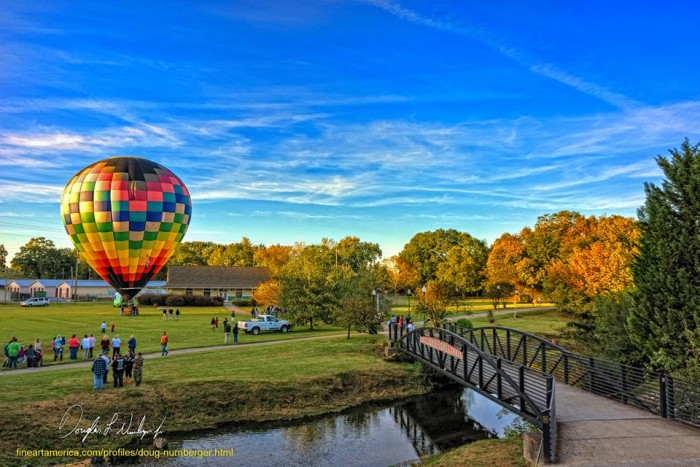 4. Balloon Ride on the Silver Comet Trail in Rockmart, GA by Doug Neunberger