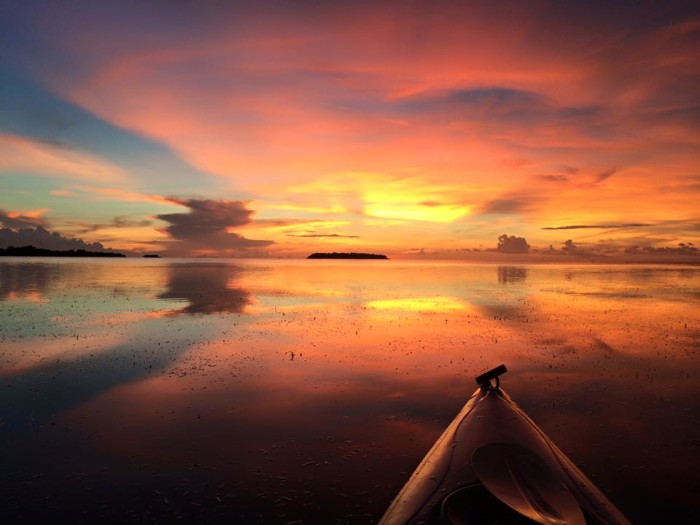 21. Jeanne Freels Hall took this amazing shot from her kayak in the Keys.