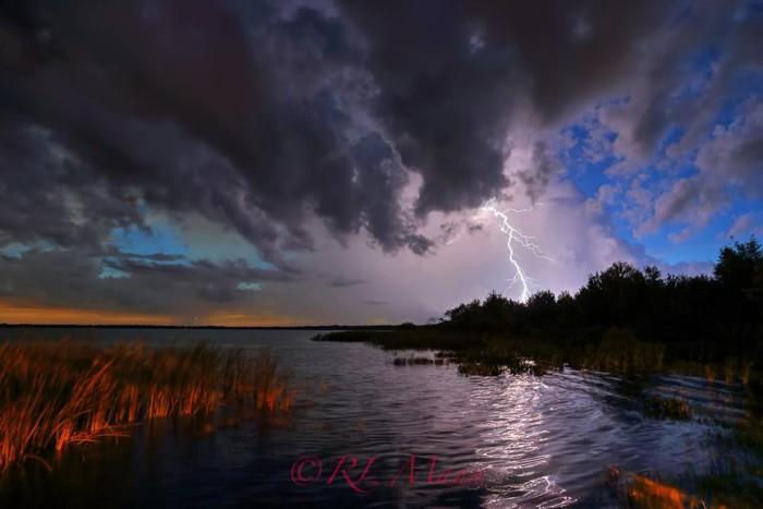 18. Rick Mann captured this storm on Lake Trafford near Immokalee, Florida.