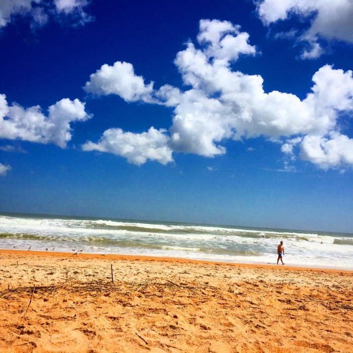 1. Thanks to Joyce Connolly for this stunning photo of Flagler Beach.