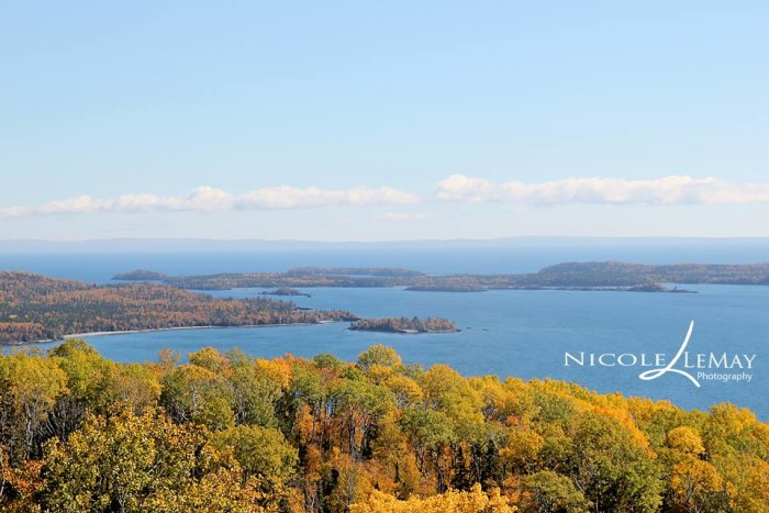 14. Just North of Grand Marais, Nicole LeMay found another beautiful angle to show off MN's fall colors.