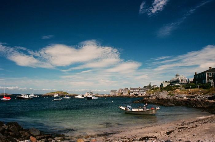 6. A gorgeous day for a trip to Monhegan Island.