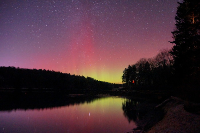 3. With a long exposure and some color work, a sunset turns into a show of stars.