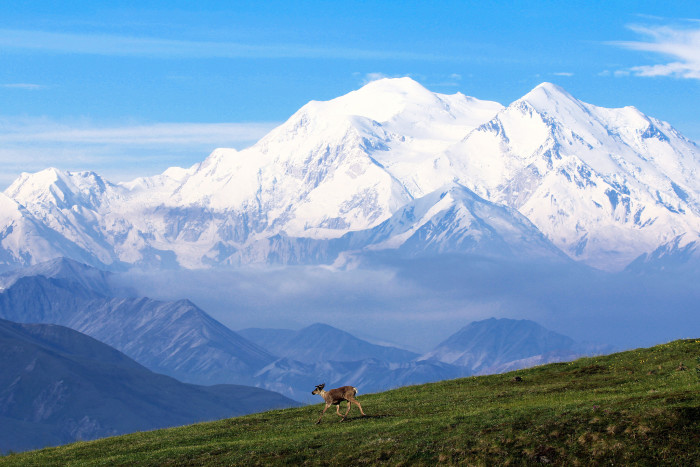 7) A brand spanking new mountain.