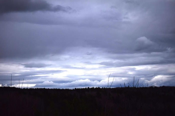 9. A stormy day in Searsport.