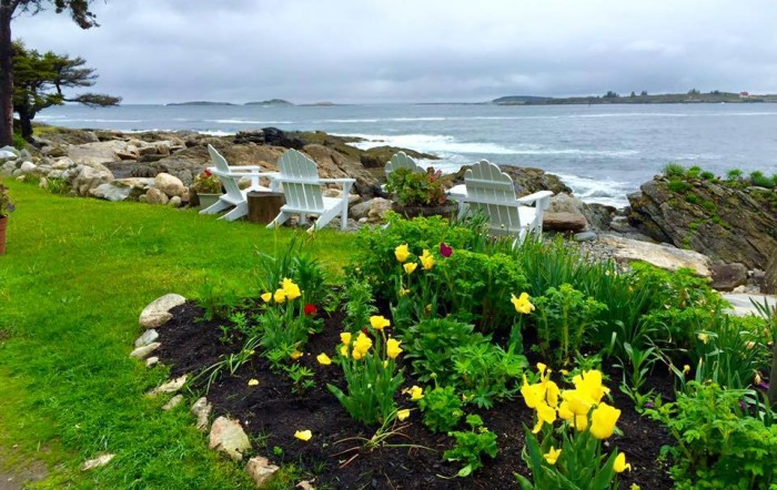 8. A place to relax at Ocean Point in East Boothbay.