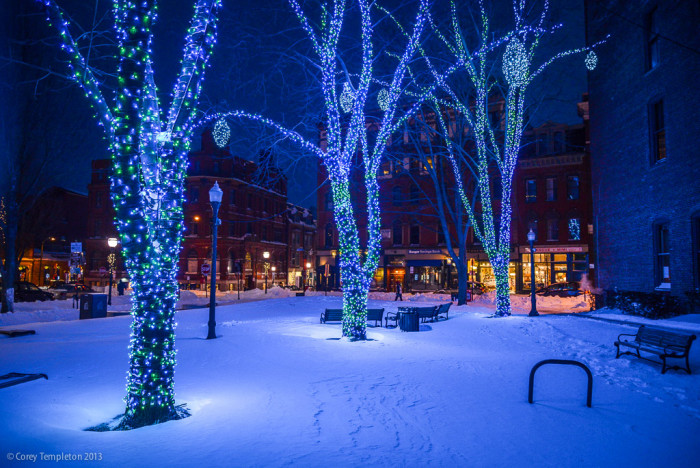 15. And, lastly, it might not be the actual night sky, but it sure does sparkle. You almost don't need a starry night when you're in Portland for Christmas.