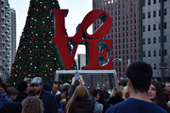 9. Even if you're not into winter sports, our cities go all out for the holiday season. Pictured is the Christmas tree in Philadelphia.