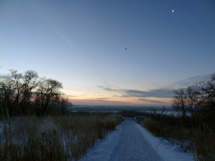 14. The mornings at Minnesota Valley National Wildlife Refuge are especially gorgeous.