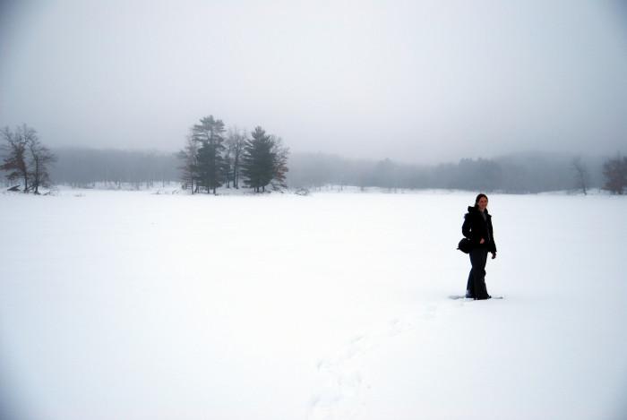 8. Snowshoeing