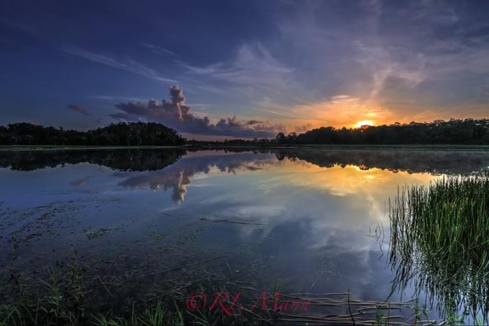 9. Rick Mann captured this sunrise at Harns Marsh in Lehigh Acres.