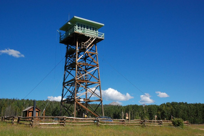 4.  Jersey Jim Fire Lookout Tower (Mancos)