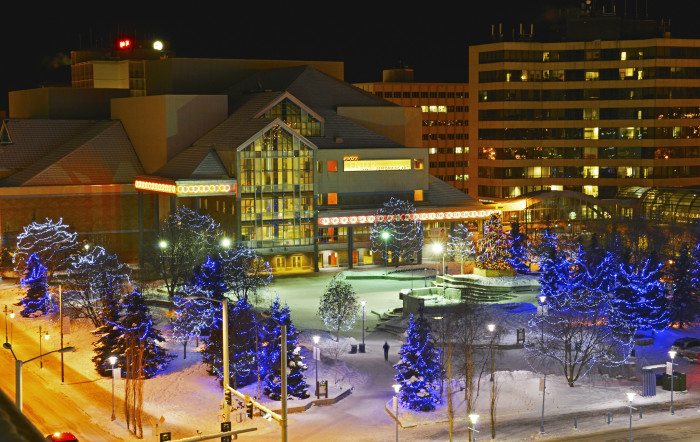 7) Downtown Anchorage, what a sight!