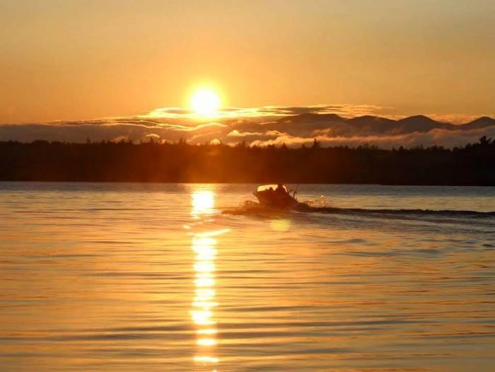 13. Summer days at Caribou Lake.