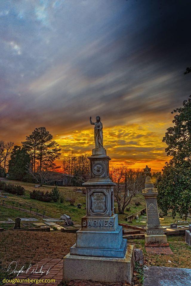 18. Barnes - Rose Hill Cemetery Macon, GA taken in February 2015 by Doug Neunberger