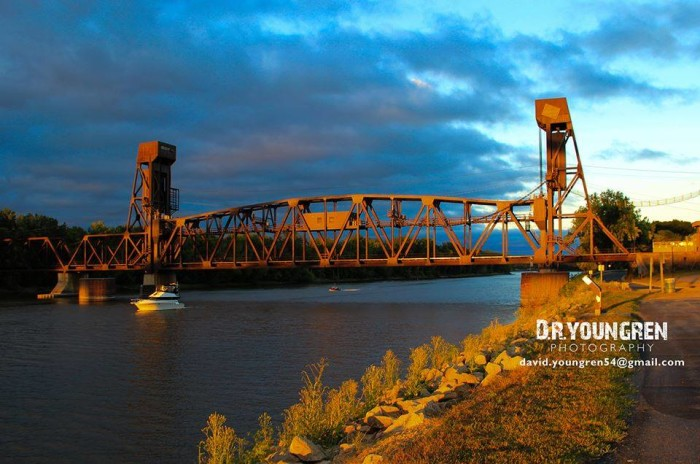 8. David Younger captured the Old Milwaukee RR Bridge in Hastings glowing in the sun this August.