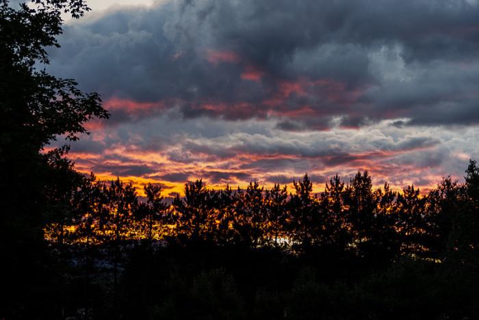 10. Stormy Sunset