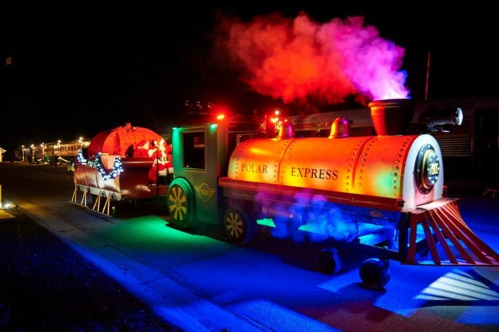 8. We even have our own version of the Polar Express.