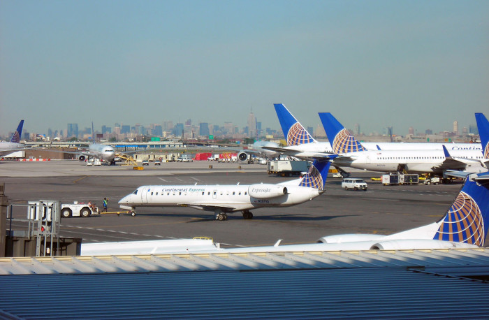8. Stuck at Newark Airport? Head to Terminal C for some fine dining.
