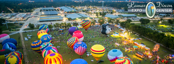 12. Check out the amazing display of hot air balloons at the Ascension Hot Air Balloon Festival