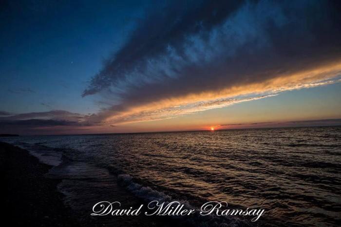20. Sunset over Lake Erie