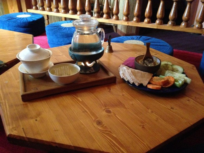 8. Soak up the ambiance of a traditional tea room.