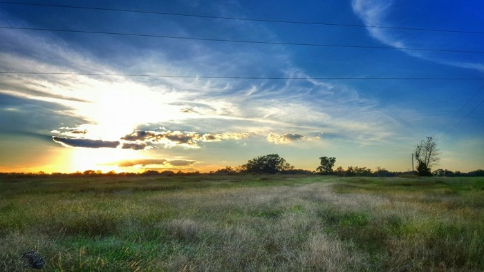 """9. """"Spectacular view from Spalding County tonight on my way home."""" - Lisa Westberry"""
