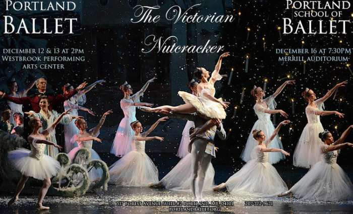 "6. The Portland Ballet's ""Victorian Nutcracker"" is unique to Maine."