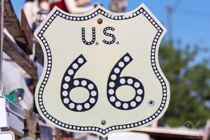 2. Got your kicks on Route 66.