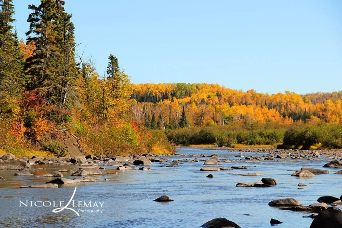 13. In Grand Portage, Nicole LeMay captured the perfect place to get into the fall spirit!