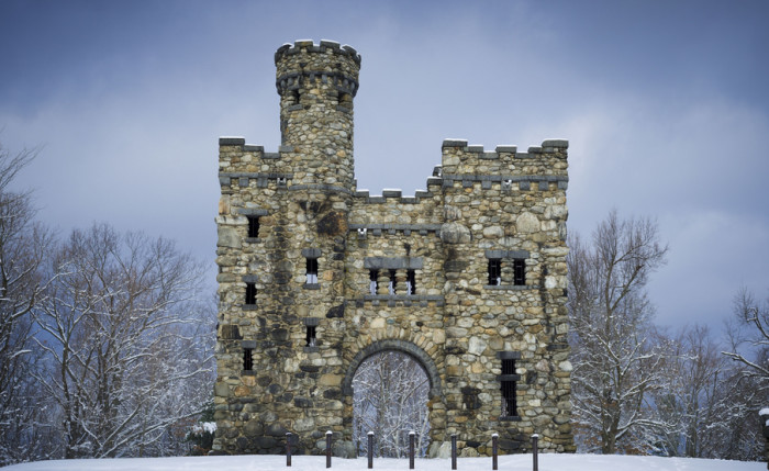 1. Bancroft Tower Castle, Worcester