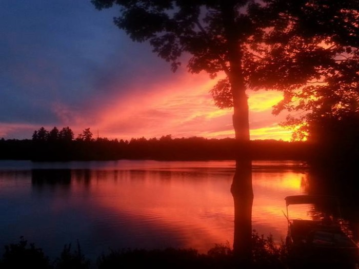 20. Lyman gave us some of the most pink sunsets this year.