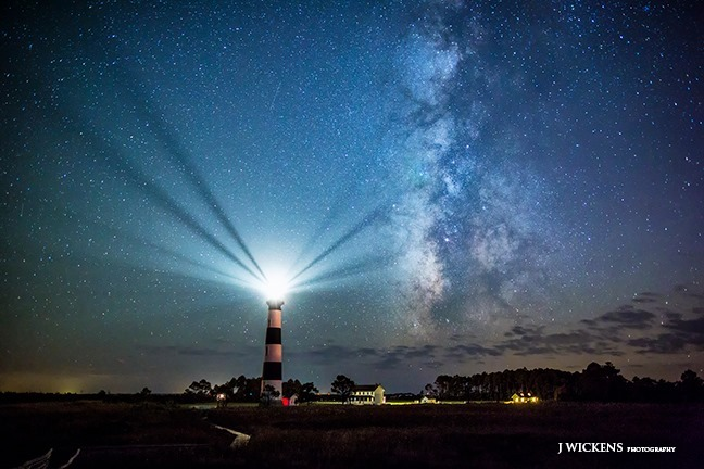 2. Lighthouse reflections by Jay Wickens Photography.
