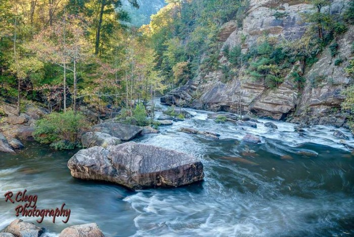 10. Tallulah Gorge State Park by Randy Clegg