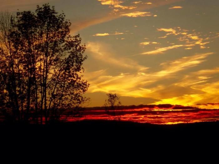 24. Thanks St. Albans, for a lovely Autumn sunset.