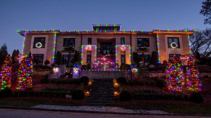 5. Lights done by I Love Christmas Lights Professional Service in Georgia - 11770 Haynes Bridge Rd, Ste 205 Alpharetta, Geor