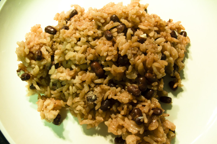 15. When red beans and rice aren't creamy.
