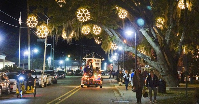 11. Snowflakes in the Bay, Bay St. Louis