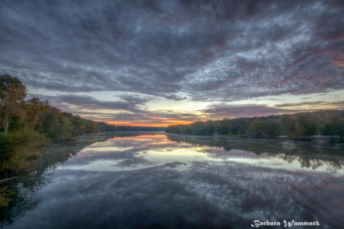 6. Savannah River Sunrise by Barbara Wammack