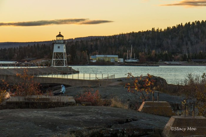 21. Stacy Moe captured a perfect October day at Lighthouse Point in Grand Marais