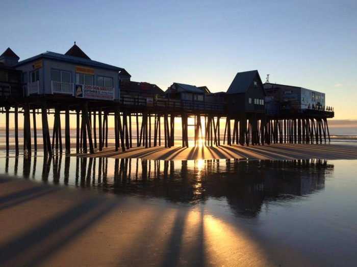 5. Grab some pier fries in Old Orchard Beach.