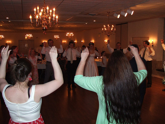 8. You are all too familiar with the Chicken Dance, in which you partook at many events and gatherings.