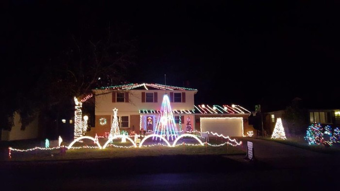 4. Dazzling Christmas Lights (Westerville)
