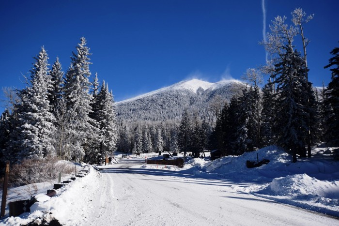 1. Here's a good start to this list: the San Francisco Peaks last month!