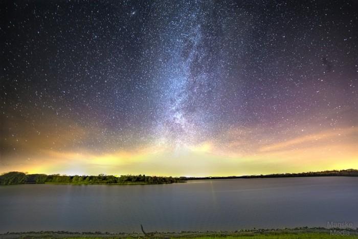 11. Josh Manske snapped this enchanting photo of Bluestem Lake looking west off the dam.