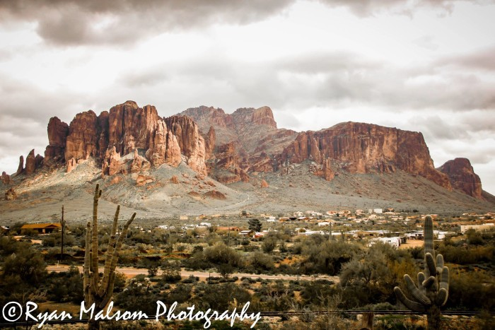 13. If the Superstition Mountains were never on your radar for a visit, they definitely will after checking out this photo.