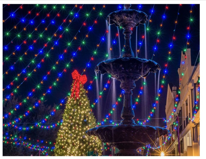 3. Natchitoches Christmas Festival—it's a joy for all who get to visit.