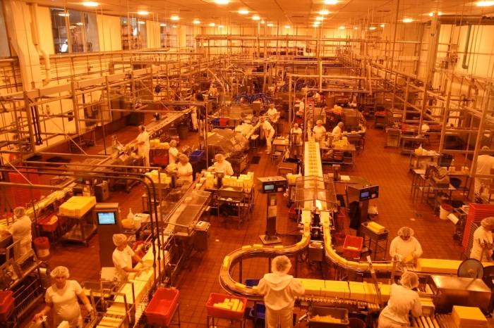 4. Tour the Tillamook Cheese Factory.